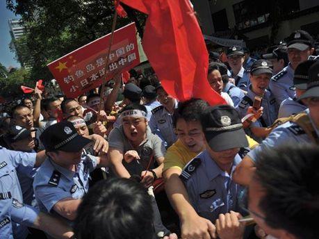 Антияпонские погромы в Китае