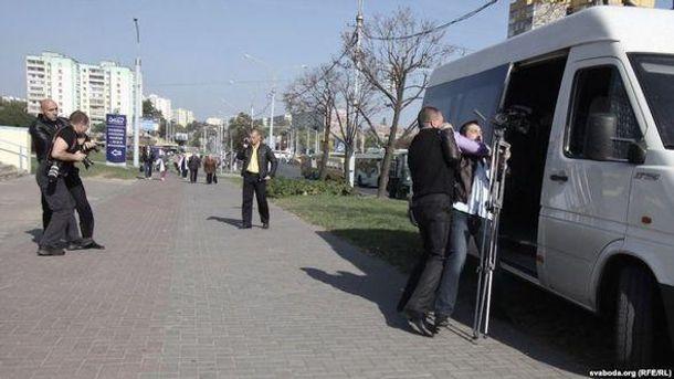 Задержание журналистов