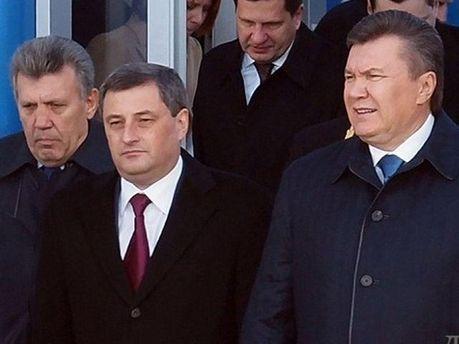 Виктор Янукович и Эдуард Матвийчук