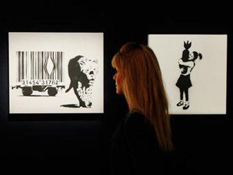 Выставка Бэнкси в Лондоне