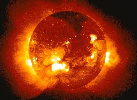 Солнце в активном цикле