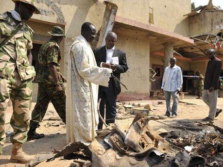 Взрыв в Нигерии