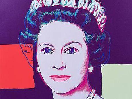 Королева Елизавета авторства Энди Уорхола