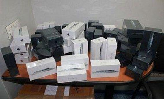 Контрабандные iPhone 5