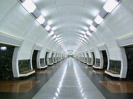 Станция киевского метро