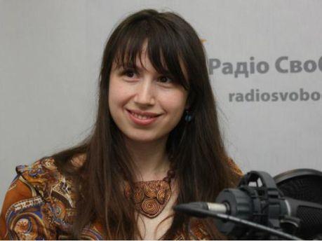 Журналистка Татьяна Чорновил