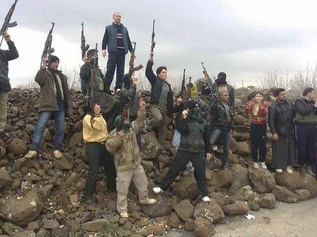 Повстанці в Сирії