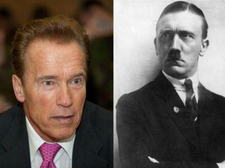 Арнольд Шварценеггер и Адольфо Гитлер