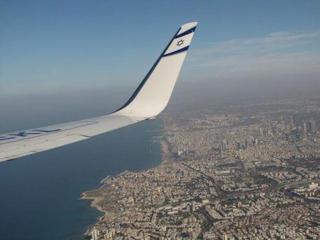 В Тель-Авив с самолета