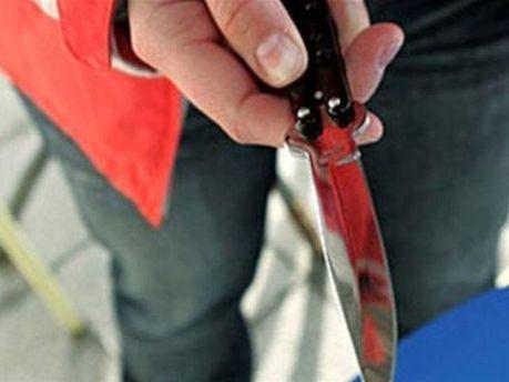 Преступник угрожал ножом