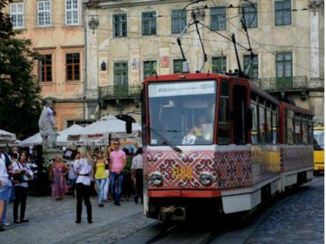 Трамвай во  Львове
