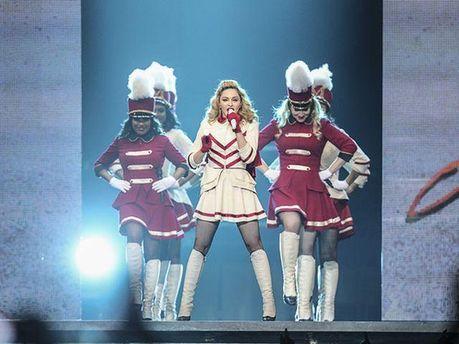 Мадонна на концерті