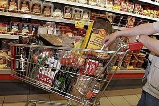 Покупки в супермаркеті
