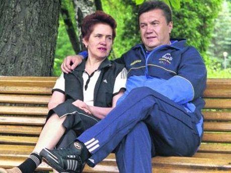 Людмила і Віктор Янукович