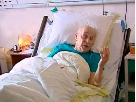 Леонід Бронєвой в лікарні
