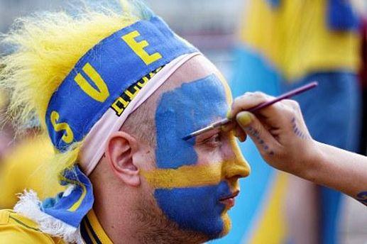 Болельщик из Швеции на Евро-2012