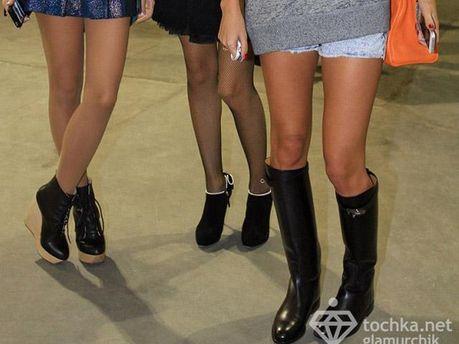 Ноги Лизы Ющенко