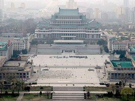 Столица КНДР Пхеньян