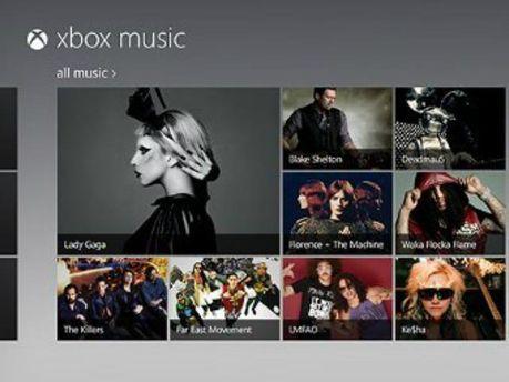 Музыкальный сервис Xbox Music