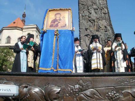 Львів, молебень
