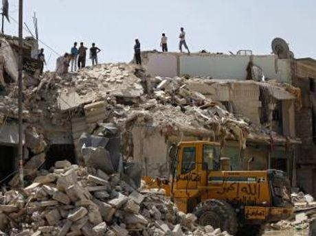 Бомбардування в Сирії
