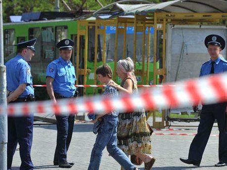 На місці вибуху у Дніпропетровську