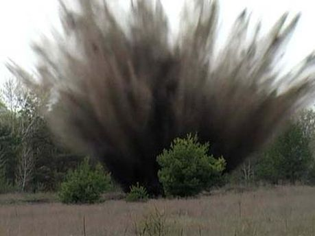 Взрыв мины