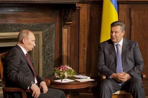 Зустріч президентів Росії та України