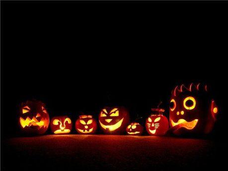 Декорации для Хэллоуина