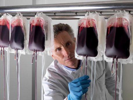 Гепатит С передається через кров