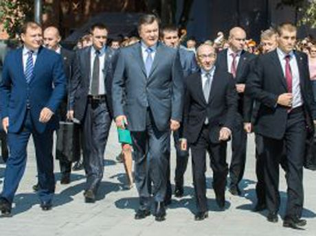 Виктор Янукович в Харькове