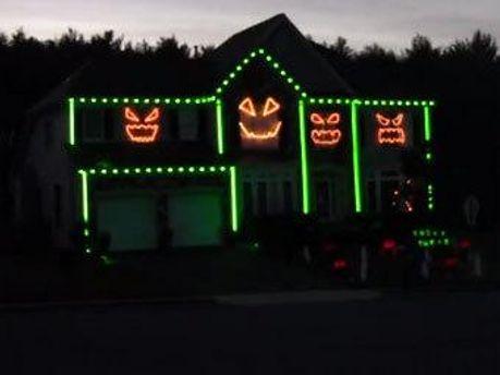 Хеллоуинская гирлянда