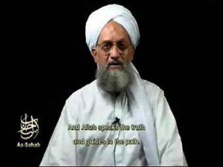 Айман аль-Завахірі. Кадр з каналу AFP