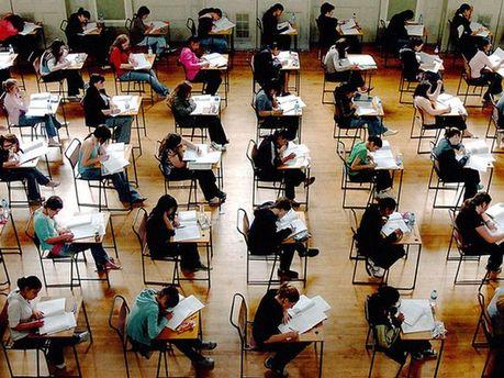 На іспиті