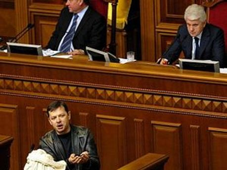 Литвин і Ляшко проходять до Ради