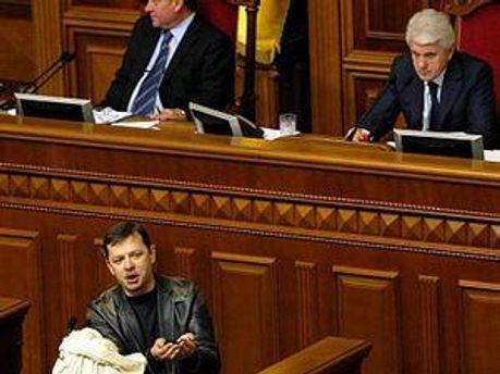Литвин и Ляшко проходят в Раду