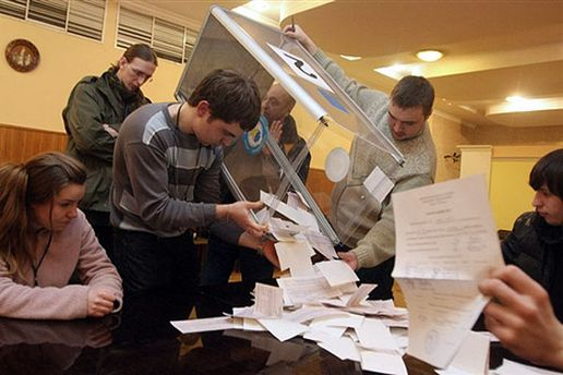 Підрахунок голосів виборців