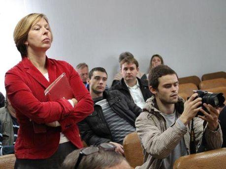 Ксенія Ляпіна на ОВК №216