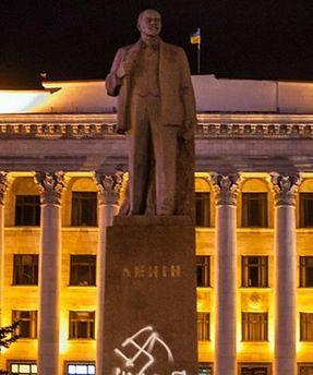 Памятник Владимиру Ленину в Житомире