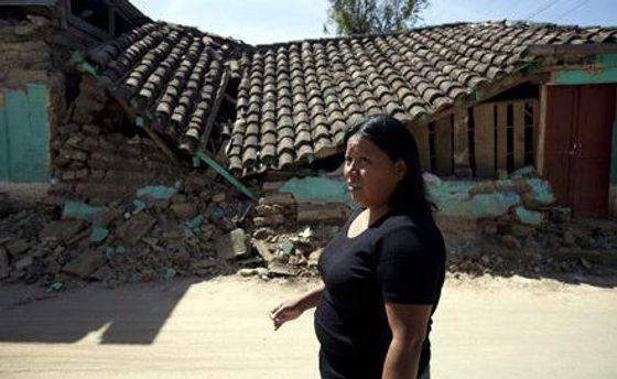 Последствия землетрясения в Гватемале