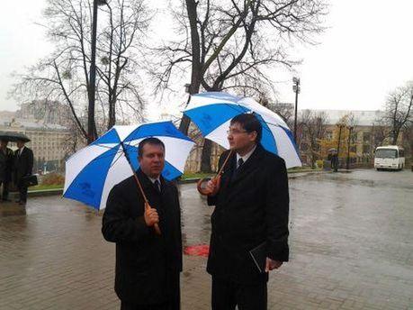 Прокурори під дощем
