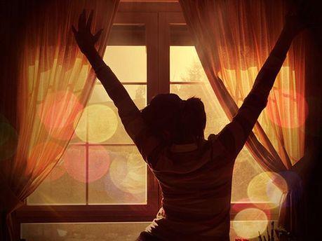 Люди утром самые счастливые