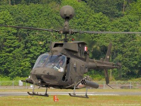 Вертоліт Bell OH-58A