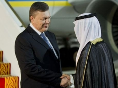 Виктор Янукович в ОАЭ