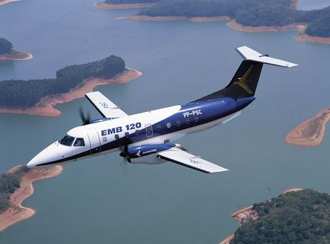 Самолет Embraer 120