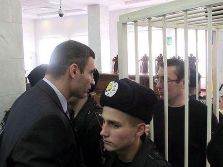 Виталий Кличко и Юрий Луценко