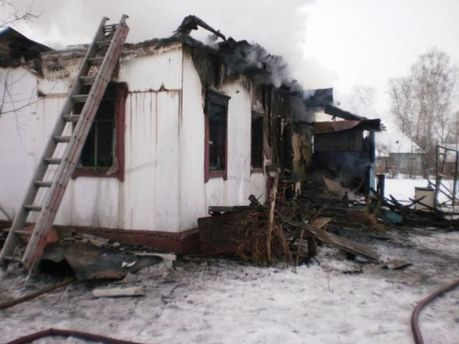 Будинок, що згорів