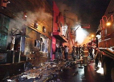 Пожар в бразильском ночном клубе