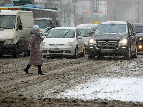 В Україні опади