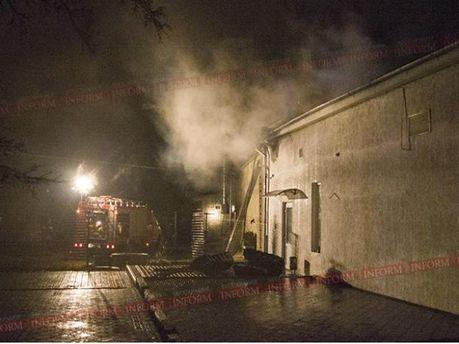 В Измаиле горел ночной клуб (Фото)